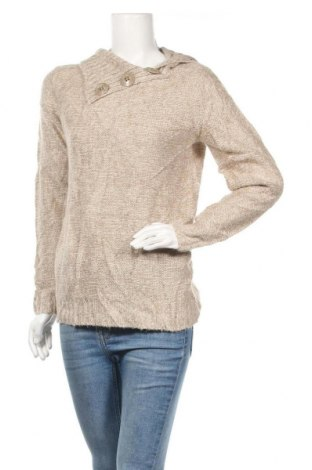Дамски пуловер George, Размер M, Цвят Бежов, Акрил, Цена 8,82лв.