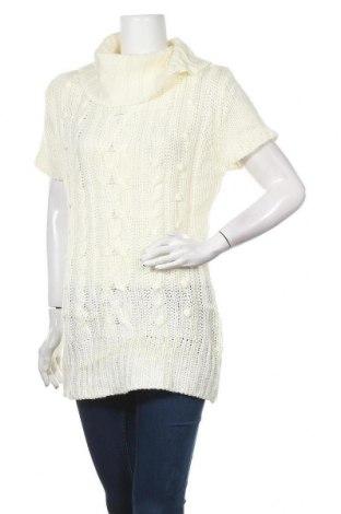 Γυναικείο πουλόβερ George, Μέγεθος XL, Χρώμα Λευκό, Ακρυλικό, Τιμή 19,12€