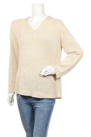 Γυναικείο πουλόβερ Gerry Weber, Μέγεθος XL, Χρώμα  Μπέζ, 52%ακρυλικό, 48% πολυαμίδη, Τιμή 10,46€