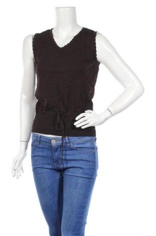 Дамски пуловер Gil Bret, Размер L, Цвят Кафяв, 68% вискоза, 32% полиамид, Цена 13,02лв.