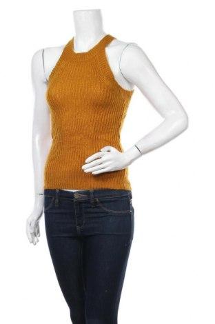 Дамски пуловер Glassons, Размер S, Цвят Жълт, Акрил, Цена 8,45лв.