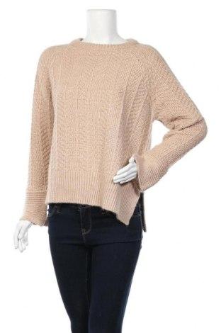 Γυναικείο πουλόβερ H&M, Μέγεθος M, Χρώμα  Μπέζ, 90%ακρυλικό, 10% μαλλί, Τιμή 19,74€