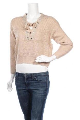 Γυναικείο πουλόβερ, Μέγεθος XS, Χρώμα  Μπέζ, Τιμή 14,81€