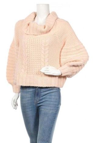 Дамски пуловер H&M, Размер S, Цвят Розов, 85% акрил, 15% вълна, Цена 20,16лв.