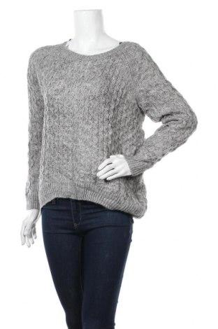 Дамски пуловер H&M, Размер S, Цвят Сив, 80% акрил, 20% полиамид, Цена 8,09лв.