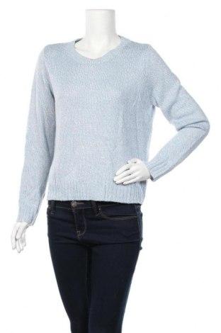 Дамски пуловер H&M Divided, Размер M, Цвят Син, Акрил, Цена 13,65лв.