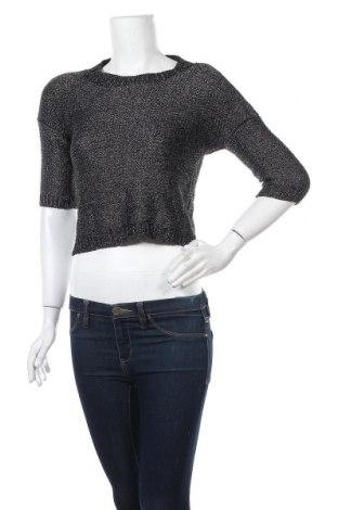 Дамски пуловер Hot Options, Размер M, Цвят Сив, Акрил, полиамид, Цена 6,83лв.