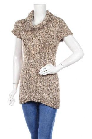 Дамски пуловер INC International Concepts, Размер L, Цвят Кафяв, 51% акрил, 37% памук, 9% вълна, 3% други нишки, Цена 10,35лв.