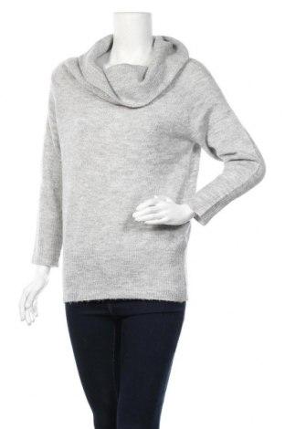 Γυναικείο πουλόβερ Jacqueline De Yong, Μέγεθος XS, Χρώμα Γκρί, 75%ακρυλικό, 22% πολυαμίδη, 3% ελαστάνη, Τιμή 16,66€