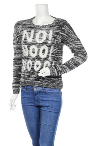 Дамски пуловер Janina, Размер M, Цвят Сив, 92% акрил, 8% полиестер, Цена 9,92лв.