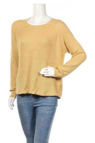 Дамски пуловер Jay Jays, Размер M, Цвят Жълт, 50% памук, 50% акрил, Цена 25,94лв.