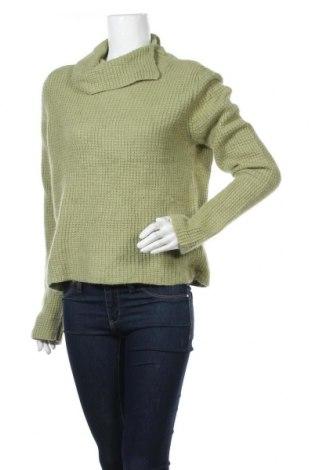 Γυναικείο πουλόβερ Jessica, Μέγεθος XL, Χρώμα Πράσινο, 38% βισκόζη, 37% πολυαμίδη, 25% ανγκορά, Τιμή 16,24€