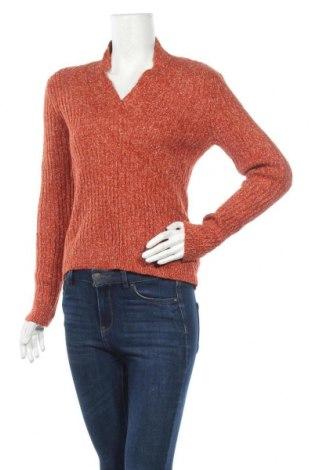 Дамски пуловер Jessica, Размер M, Цвят Оранжев, 50% акрил, 23% памук, 16% вълна, 11% полиамид, Цена 23,94лв.