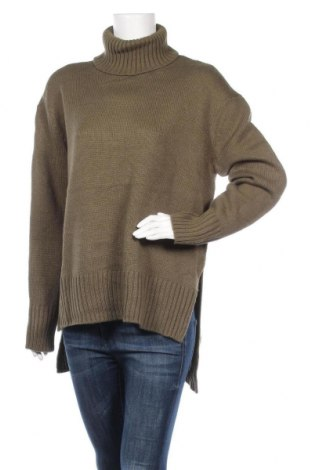 Дамски пуловер Joe Fresh, Размер L, Цвят Зелен, Акрил, Цена 15,12лв.