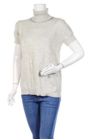 Γυναικείο πουλόβερ Just For You, Μέγεθος XL, Χρώμα Γκρί, 40% μαλλί, 30% κασμίρι, 15% βισκόζη, 15% ελαστάνη, Τιμή 7,02€