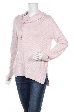 Дамски пуловер Just Jeans, Размер M, Цвят Розов, 50% акрил, 50% вискоза, Цена 9,56лв.