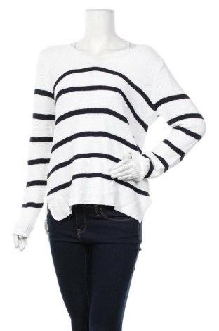 Дамски пуловер Just Jeans, Размер S, Цвят Бял, 60% вискоза, 40% памук, Цена 17,64лв.