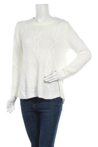 Γυναικείο πουλόβερ KappAhl, Μέγεθος M, Χρώμα Λευκό, 78%ακρυλικό, 22% πολυαμίδη, Τιμή 12,37€