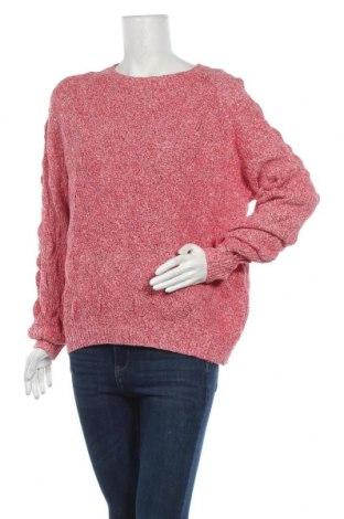 Γυναικείο πουλόβερ KappAhl, Μέγεθος S, Χρώμα Κόκκινο, 50% βαμβάκι, 25% πολυαμίδη, 25% βισκόζη, Τιμή 18,84€