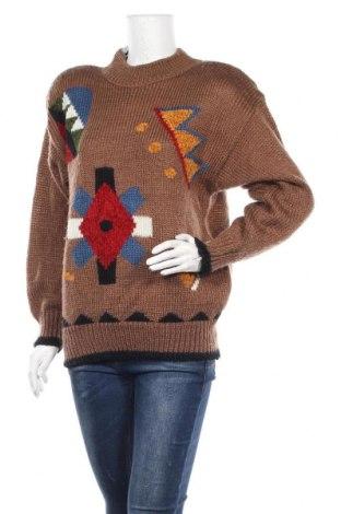 Γυναικείο πουλόβερ KappAhl, Μέγεθος S, Χρώμα Καφέ, Ακρυλικό, Τιμή 13,75€