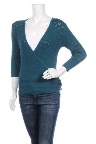 Дамски пуловер Katies, Размер M, Цвят Син, 70% вискоза, 30% полиамид, Цена 7,09лв.