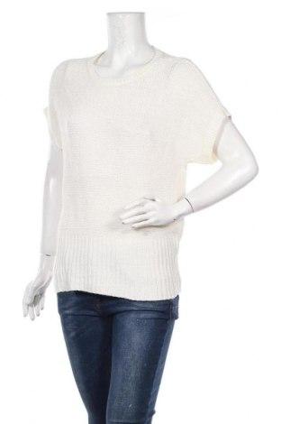 Дамски пуловер Katies, Размер M, Цвят Бял, 55% акрил, 45% полиамид, Цена 4,83лв.