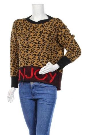 Γυναικείο πουλόβερ King Kong, Μέγεθος M, Χρώμα Πολύχρωμο, 75%ακρυλικό, 10% βισκόζη, 10% μαλλί, 5% μαλλί από αλπακά, Τιμή 16,05€