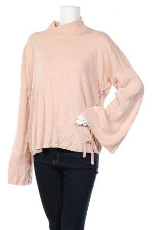 Дамски пуловер LABEL LAB, Размер XXL, Цвят Розов, Акрил, Цена 15,12лв.