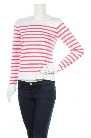 Дамски пуловер Le Phare De La Baleine, Размер M, Цвят Бял, 50% памук, 50% акрил, Цена 33,04лв.
