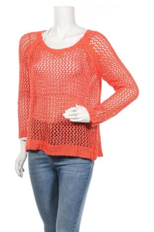Дамски пуловер Lindex, Размер L, Цвят Оранжев, Акрил, Цена 5,50лв.