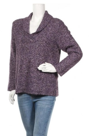 Дамски пуловер Liz Claiborne, Размер XL, Цвят Лилав, Цена 18,38лв.
