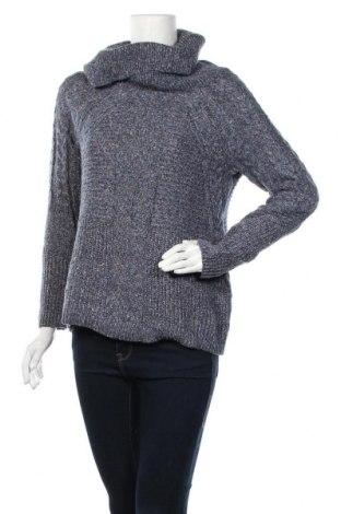 Дамски пуловер Liz Claiborne, Размер M, Цвят Син, 64% полиестер, 36% акрил, Цена 23,10лв.