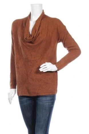Γυναικείο πουλόβερ Loft By Ann Taylor, Μέγεθος S, Χρώμα Καφέ, 41% βισκόζη, 33% πολυαμίδη, 26% μαλλί, Τιμή 61,09€