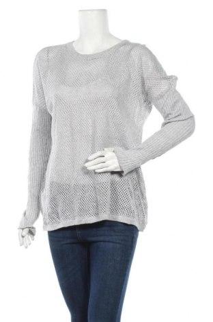 Дамски пуловер Lorna Jane, Размер L, Цвят Сив, Памук, Цена 5,78лв.
