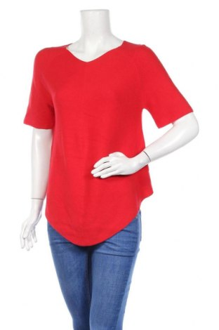 Дамски пуловер Louise Orop, Размер S, Цвят Червен, Памук, Цена 26,25лв.