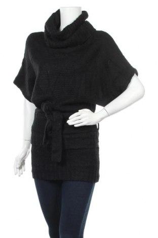 Дамски пуловер Lovestitch, Размер M, Цвят Черен, Цена 17,64лв.