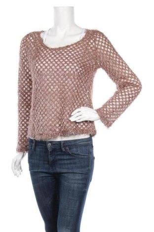 Дамски пуловер Luvalot, Размер M, Цвят Кафяв, 65% памук, 35% полиестер, Цена 7,09лв.