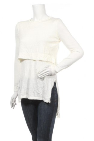 Дамски пуловер Madison Square, Размер S, Цвят Екрю, 55% акрил, 45% памук, Цена 10,87лв.