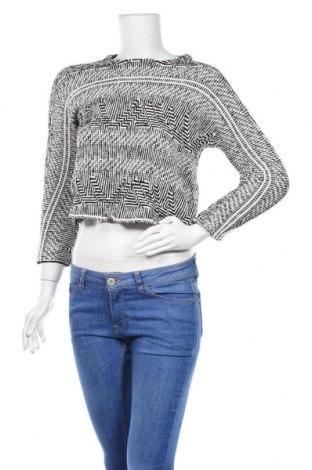 Дамски пуловер Maje, Размер XS, Цвят Бял, 53% акрил, 45% памук, 3% полиамид, Цена 51,00лв.