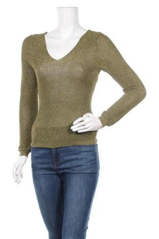 Дамски пуловер Mango, Размер S, Цвят Зелен, Полиестер, Цена 51,75лв.