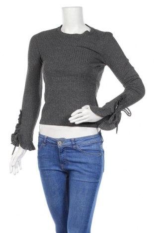 Γυναικείο πουλόβερ Mango, Μέγεθος XS, Χρώμα Γκρί, 74% πολυεστέρας, 24% βισκόζη, 2% ελαστάνη, Τιμή 11,14€