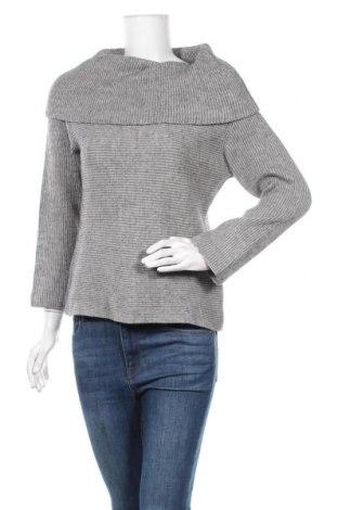 Дамски пуловер Marc Cain, Размер L, Цвят Сив, 65% вълна, 25% акрил, 10% вълна от алпака, Цена 117,60лв.