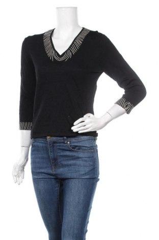 Дамски пуловер Marco Polo, Размер S, Цвят Черен, 68% вискоза, 32% полиамид, Цена 17,64лв.
