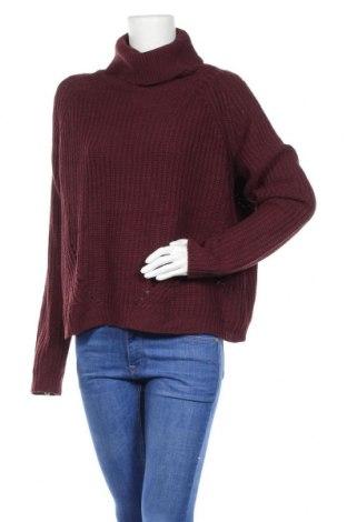 Γυναικείο πουλόβερ Mix, Μέγεθος XL, Χρώμα Κόκκινο, Ακρυλικό, Τιμή 6,37€