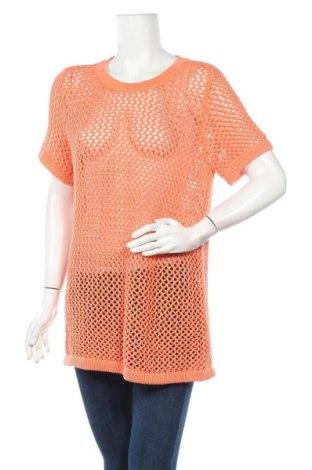 Дамски пуловер Mix, Размер L, Цвят Оранжев, Памук, Цена 6,04лв.