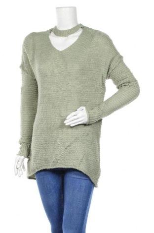 Дамски пуловер Mossimo, Размер S, Цвят Зелен, 64% акрил, 30% полиамид, 6% други тъкани, Цена 5,78лв.