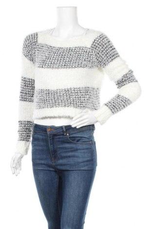 Дамски пуловер Mudd, Размер XS, Цвят Бял, 98% акрил, 2% други материали, Цена 13,23лв.