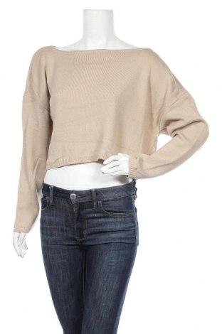 Дамски пуловер Nasty Gal, Размер S, Цвят Кафяв, Акрил, Цена 28,56лв.