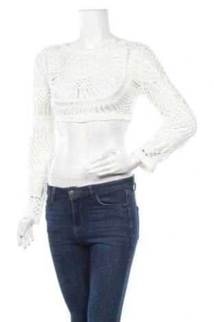 Дамски пуловер Nasty Gal, Размер M, Цвят Бял, Акрил, Цена 36,75лв.