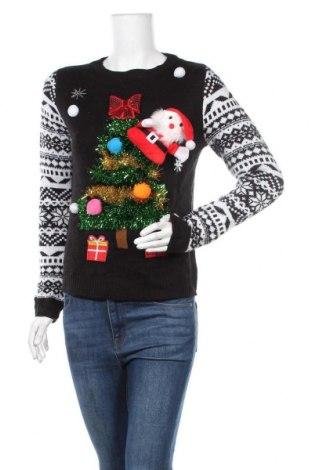 Дамски пуловер No Boundaries, Размер M, Цвят Черен, Акрил, Цена 30,45лв.